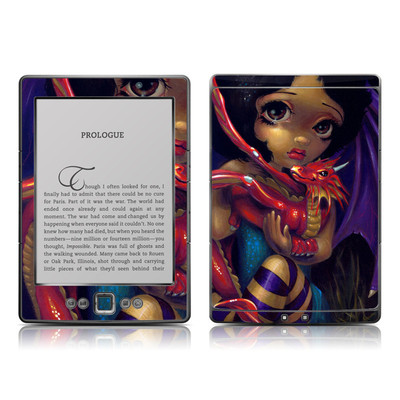 Kindle 4 Skin - Darling Dragonling