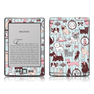 Kindle 4 Skin - Doggy Boudoir