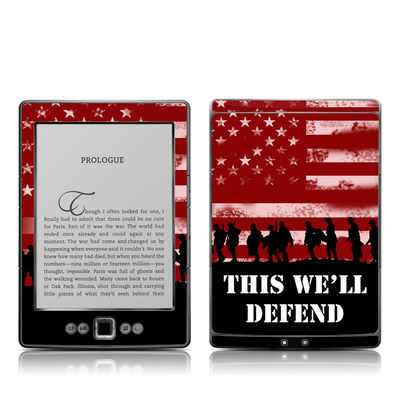 Kindle 4 Skin - Defend