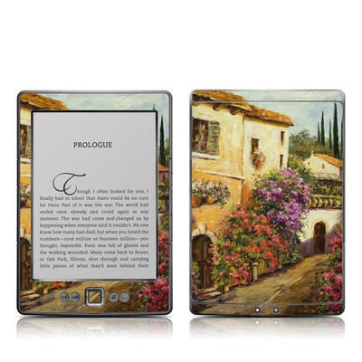 Kindle 4 Skin - Via Del Fiori