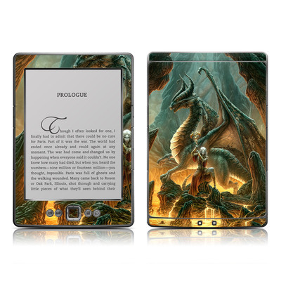Kindle 4 Skin - Dragon Mage