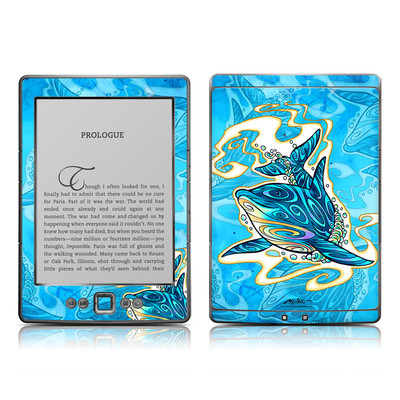 Kindle 4 Skin - Dolphin Daydream