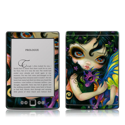 Kindle 4 Skin - Dragonling Child