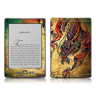 Kindle 4 Skin - Dragon Legend