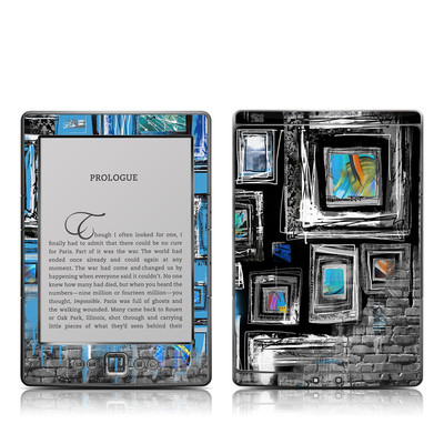 Kindle 4 Skin - Dripping Walls