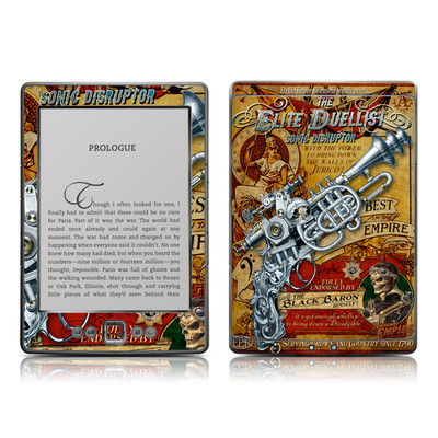 Kindle 4 Skin - The Duelist