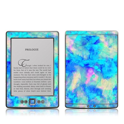 Kindle 4 Skin - Electrify Ice Blue