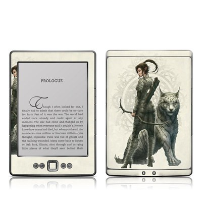 Kindle 4 Skin - Half Elf Girl