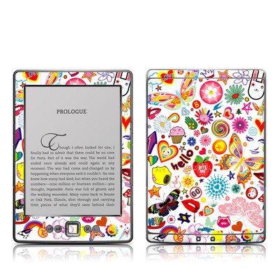 Kindle 4 Skin - Eye Candy