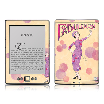 Kindle 4 Skin - Fabulous