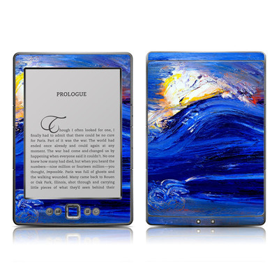 Kindle 4 Skin - Feeling Blue