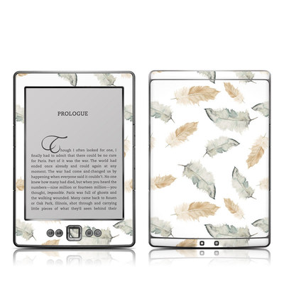 Kindle 4 Skin - Feathers
