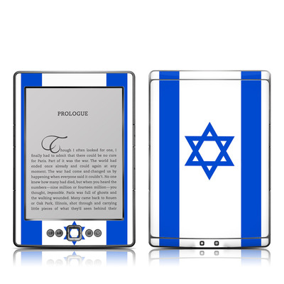 Kindle 4 Skin - Israel Flag