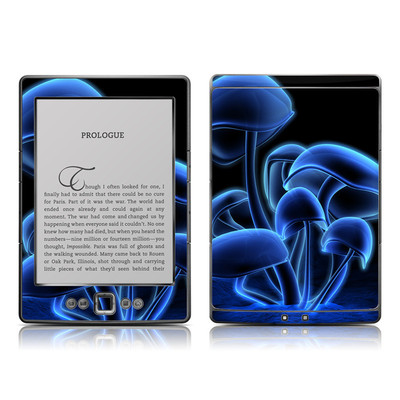Kindle 4 Skin - Fluorescence Blue