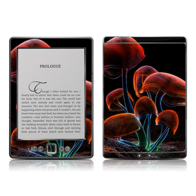 Kindle 4 Skin - Fluorescence Rainbow
