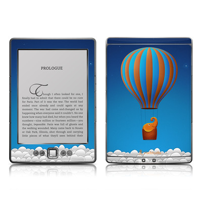 Kindle 4 Skin - Flying Elephant