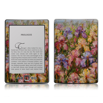 Kindle 4 Skin - Field Of Irises