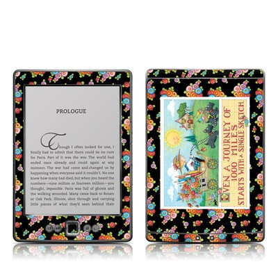 Kindle 4 Skin - Forty Year Journey