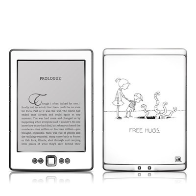 Kindle 4 Skin - Free Hugs