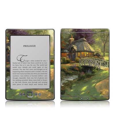 Kindle 4 Skin - Friendship Cottage