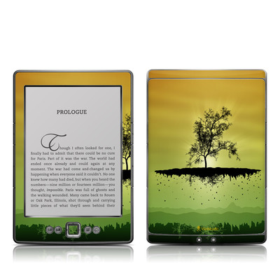 Kindle 4 Skin - Flying Tree Amber