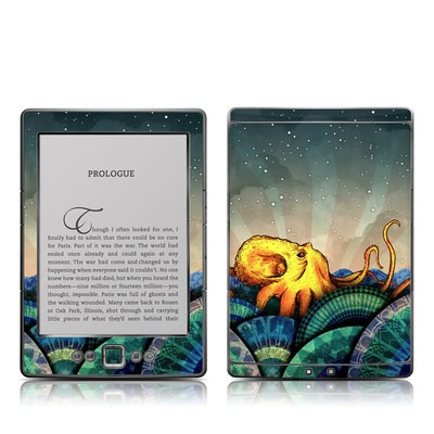 Kindle 4 Skin - From the Deep