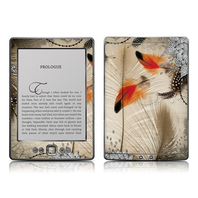 Kindle 4 Skin - Feather Dance