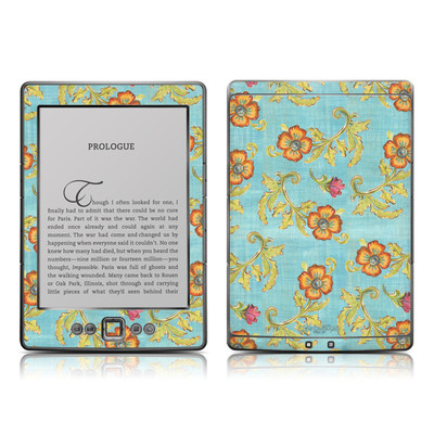 Kindle 4 Skin - Garden Jewel