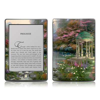 Kindle 4 Skin - Garden Of Prayer
