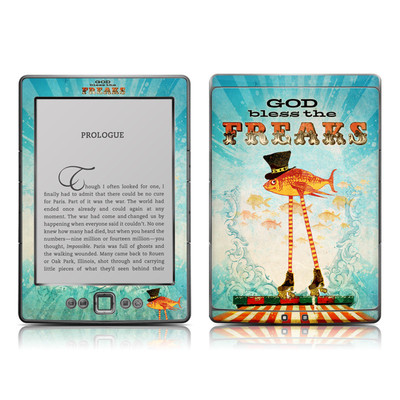 Kindle 4 Skin - God Bless The Freaks