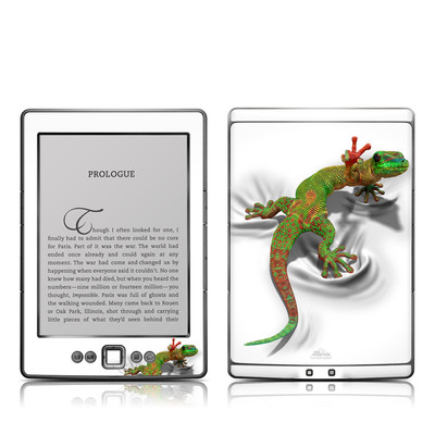 Kindle 4 Skin - Gecko
