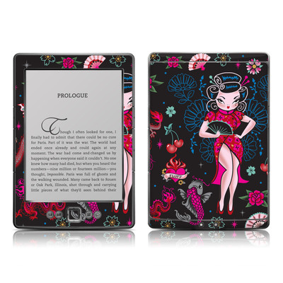 Kindle 4 Skin - Geisha Gal