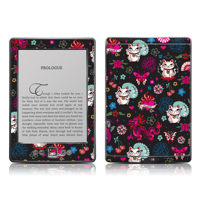 Kindle 4 Skin - Geisha Kitty