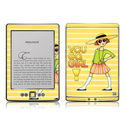 Kindle 4 Skin - You Go Girl