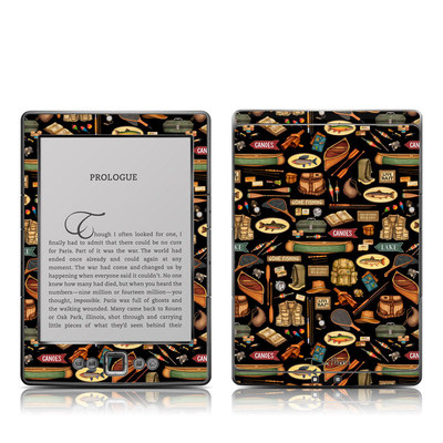 Kindle 4 Skin - Gone Fishing