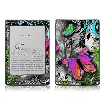 Kindle 4 Skin - Goth Forest