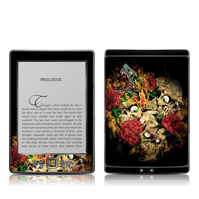 Kindle 4 Skin - Gothic Tattoo