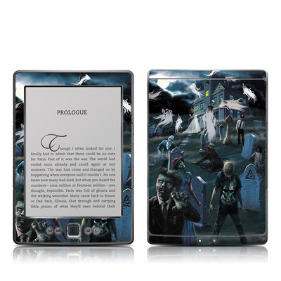 Kindle 4 Skin - Graveyard