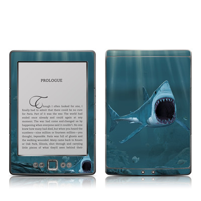 Kindle 4 Skin - Great White