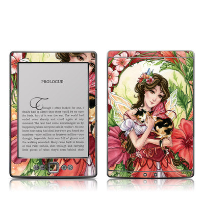Kindle 4 Skin - Hibiscus Fairy