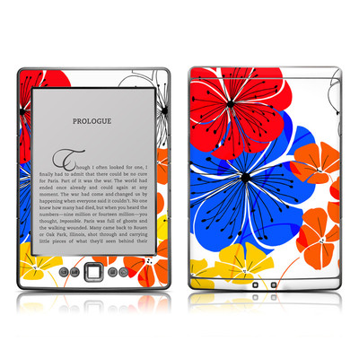 Kindle 4 Skin - Hibiscus Dance