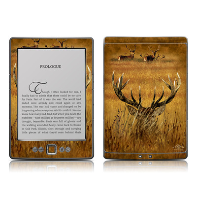 Kindle 4 Skin - Hiding Buck