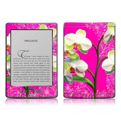 Kindle 4 Skin - Hot Pink Pop