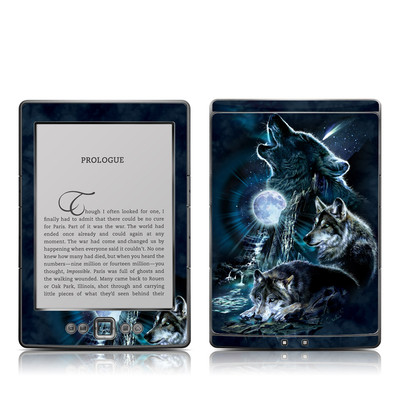 Kindle 4 Skin - Howling