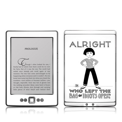 Kindle 4 Skin - Bag of Idiots