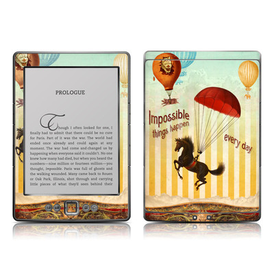 Kindle 4 Skin - Impossible