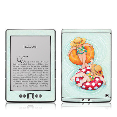 Kindle 4 Skin - Inner Tube Girls