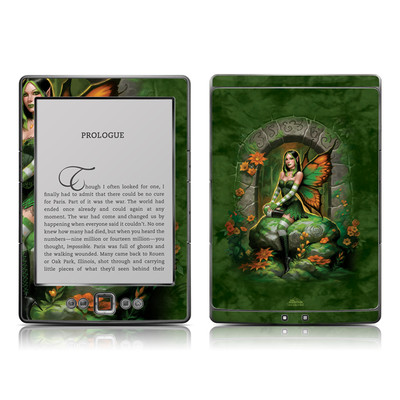 Kindle 4 Skin - Jade Fairy