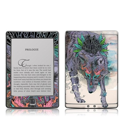 Kindle 4 Skin - Journeying Spirit