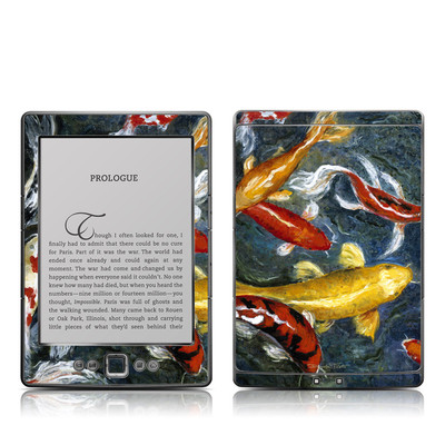 Kindle 4 Skin - Koi's Happiness